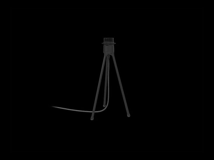VITA Tripod table black