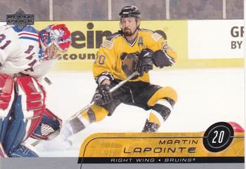 2002-03 Upper Deck #13 Martin Lapointe Front