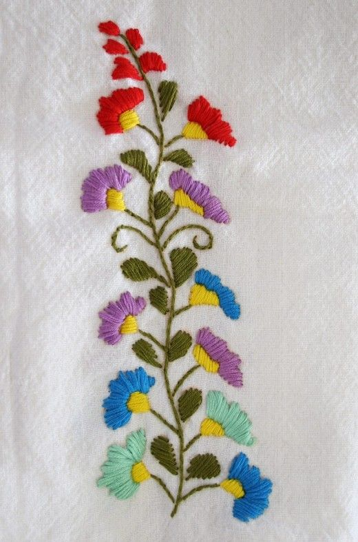 Mexican Embroidery Patterns: Embroider Your Own Peasant Blouses