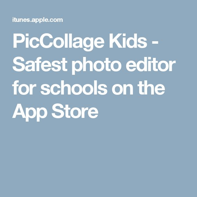PicCollage Kids - Safest photo editor for schools on the App Store