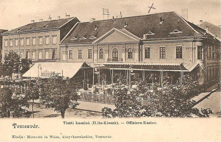 Timisoara - PIATA LIBERTATI - Cazinoul Militar - interbelica