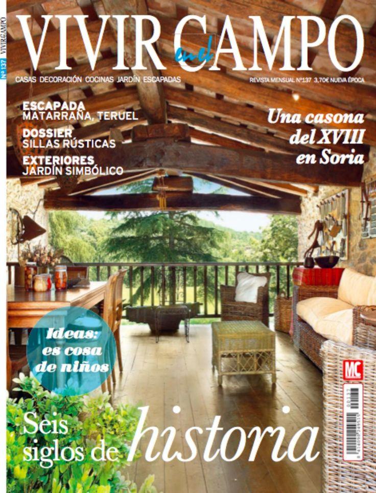 Revista vivir en el campo 137 ideas para el hogar es for Revistas de decoracion gratis