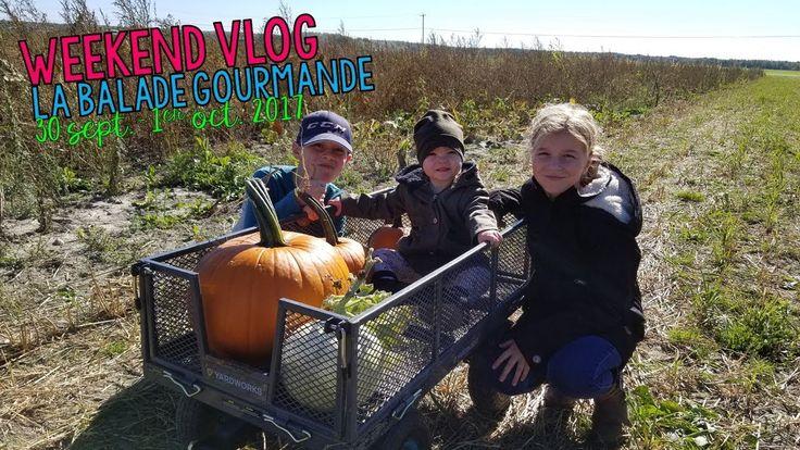 WEEKEND VLOG | 30-09-2017 01-10-2017 La balade gourmande