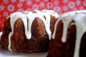 fat girl trapped in a skinny body: Eggnog Cranberry Bundt Cake