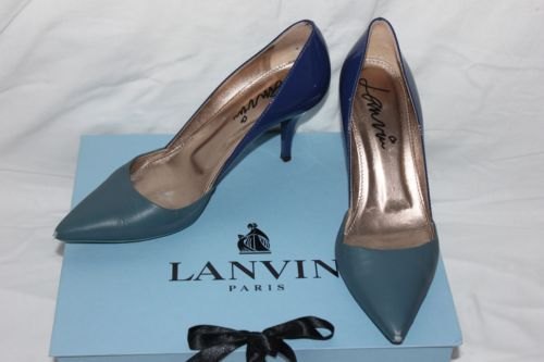 Womens-blue-Lanvin-pumps-size-40
