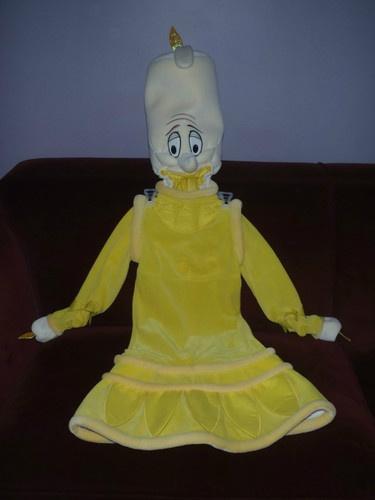 Child Xs Lumiere Beauty And The Beast Costume Ebay