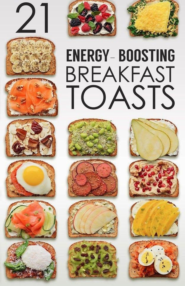Creative Breakfast Toasts That are Boosting Your Energy Levels