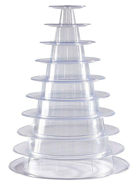 Piramida PVC macaroons