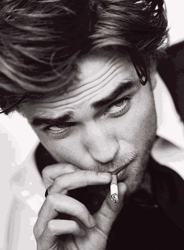 I have to agree...There is something about a guy smoking a cigarette that I happen to quite like.