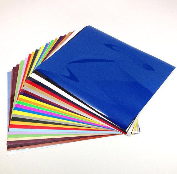 Siser EasyWeed Vinyl Sheets - CraftersSupplyOutlet- Heat Transfer Sheets - CPSIA Certified - Custom Color Vinyl 3 sheet pack