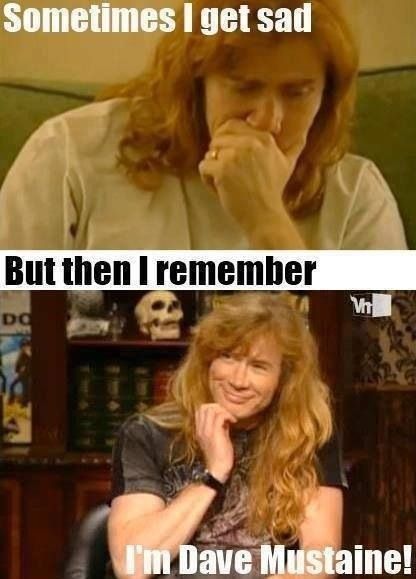 dave mustaine heavy metal memes pinterest posts and