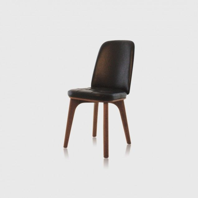 Utility Fully Upholstered Armless Dining Chair