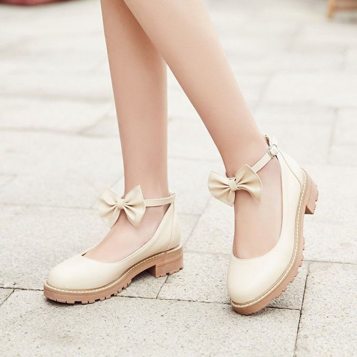 Buy YOUIN Bow-Accent Mary Jane Flats   YesStyle