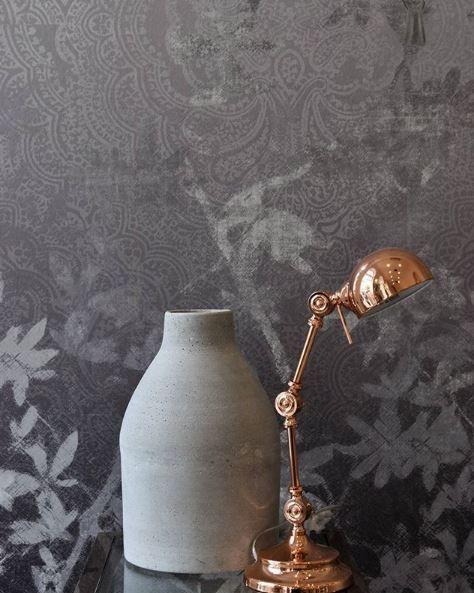 #interiordesign #contemporaryliving #rosegold #gray