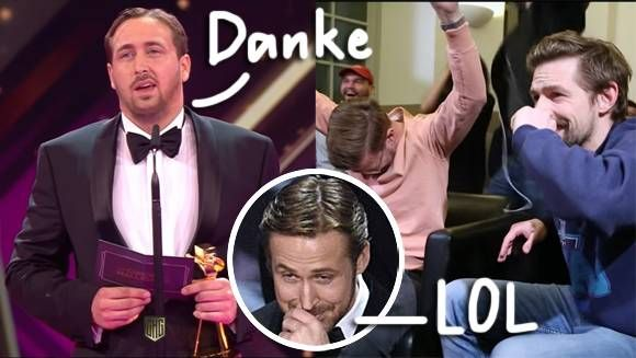 Ha! Ryan Gosling Impostor Accepts Prize At The Goldene Kamera Awards  See The Elaborate Prank HERE! - http://themostviral.com/ha-ryan-gosling-impostor-accepts-prize-at-the-goldene-kamera-awards-see-the-elaborate-prank-here/
