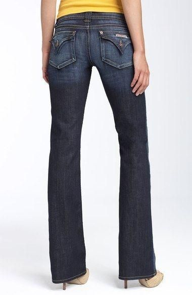 2c0a1ddcb45 HUDSON Jean boot cut flap pocket with fading Brand new with tags. Faded,  dark-rinse stretch denim shapes a flattering and versatile bootcut  silhouette ...