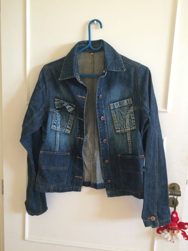 jaqueta jeans - casaquinhos sem marca