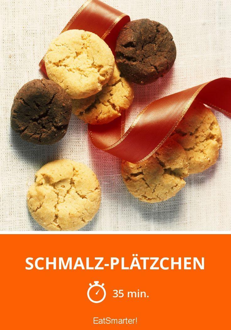 Schmalz-Plätzchen - smarter - Zeit: 35 Min. | eatsmarter.de