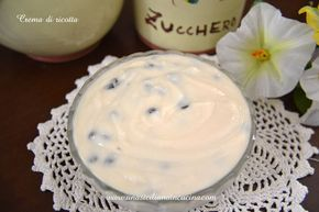 Crema alla ricotta una crema golosa e fresca che mi piace preparare sia come farcia dei dolci tipici siciliani, cassata, cannoli ecc. sia come dolce al cucchiaio