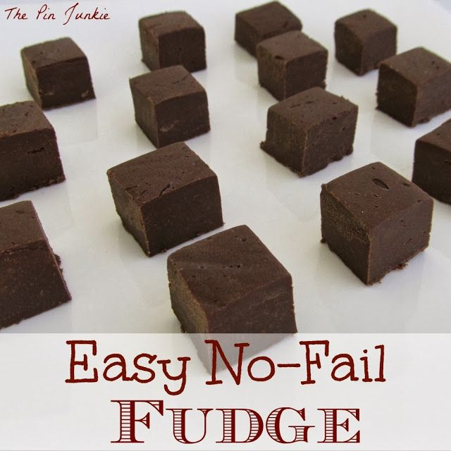 fudge recipe. Make delicious fudge in minutes with this easy no-fail ...