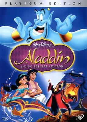 Disney Aladdin DVD 2004 2 Disc Set Special Edition English French Spanish 786936223996 | eBay
