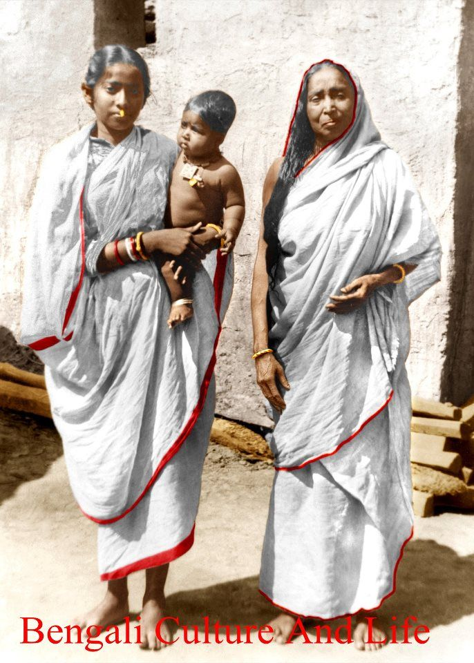 Holy Mother with Radhu