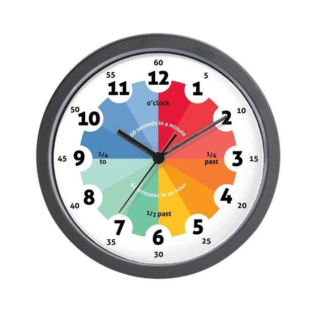 Teaching Wall Clock By Peachworks Cafepress Wall Clock Unique Wall Clocks Clock