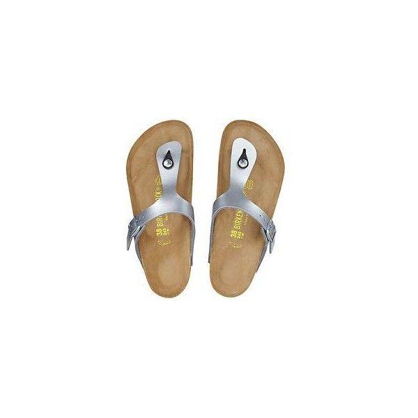 Gizeh Flip Flop by Birkenstock (115 CAD) ❤ liked on Polyvore featuring shoes, sandals, flip flops, flip flop sandals, birkenstock sandals, birkenstock shoes, birkenstock flip flops and birkenstock
