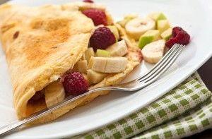 Sweet fruit omelette - 10 tasty omelette fillings