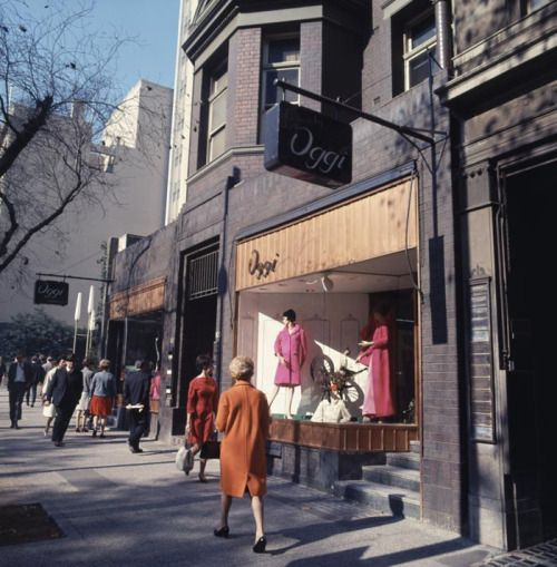 Collins Street ~ late sixties