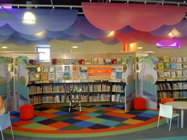 Childrens Storytelling Area At Alum Rock Storytelling