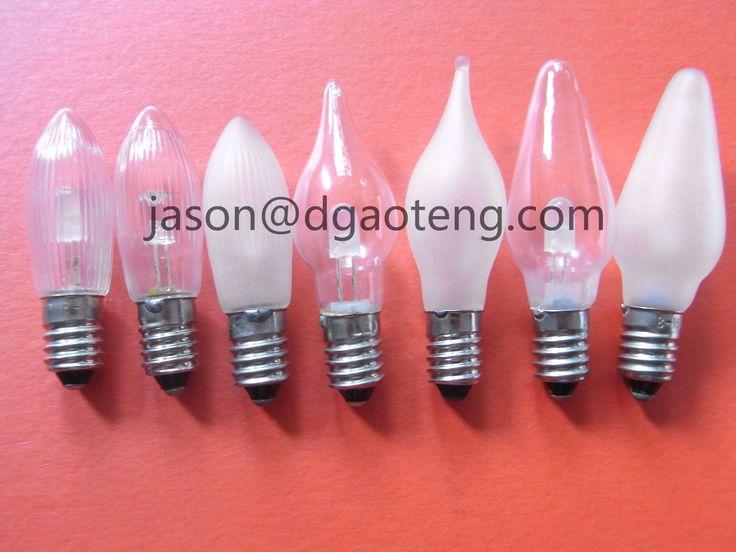 E10 C6 Led Filament Pointed Candle Bulb 1055v0.2w