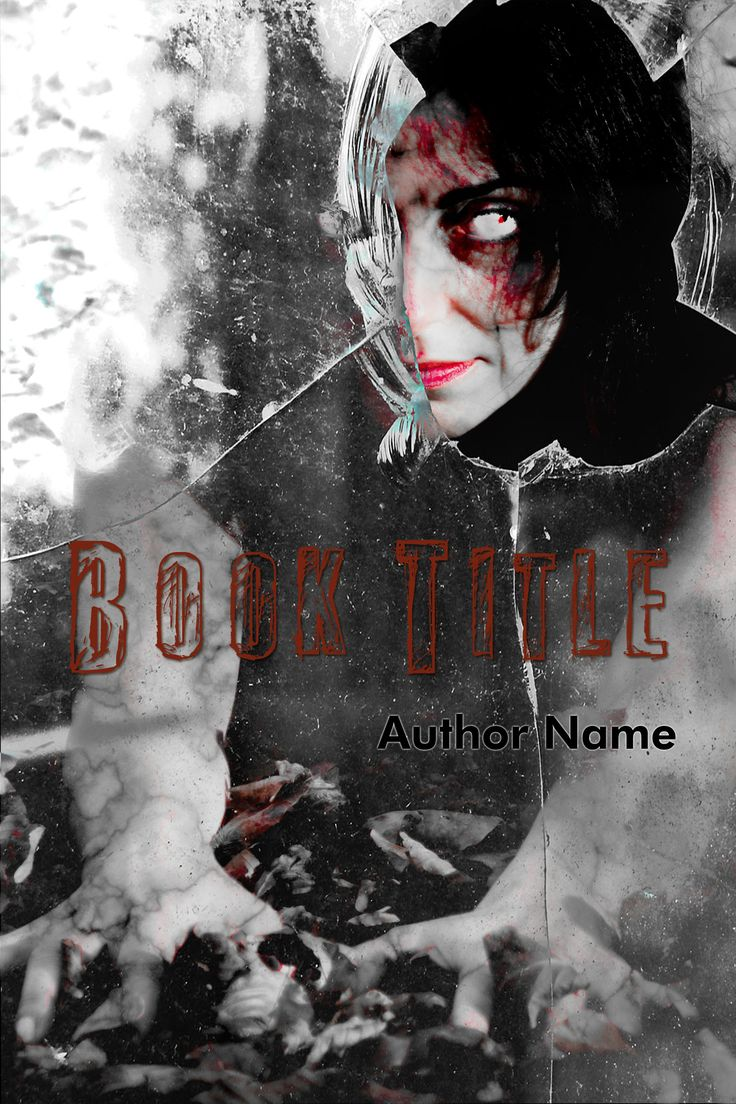 Suitable for Horror, Young Adult, Thriller & Suspense. Available as ebook cover. Can be delivered according to standard ebook specifications (1600 pixel (w) by 2400 pixel (h), 72dpi). Please provide your book title and author name (and optional tag-line or other text) upon purchasing, and I will deliver the personalized .jpeg file to you.