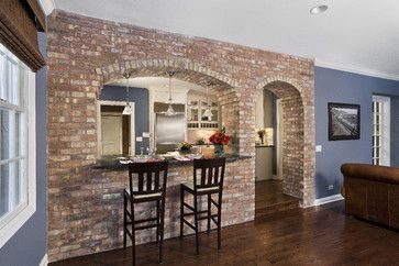 View into Kitchen / Breakfast Bar - traditional - kitchen - chicago - Great Rooms Designers & Builders
