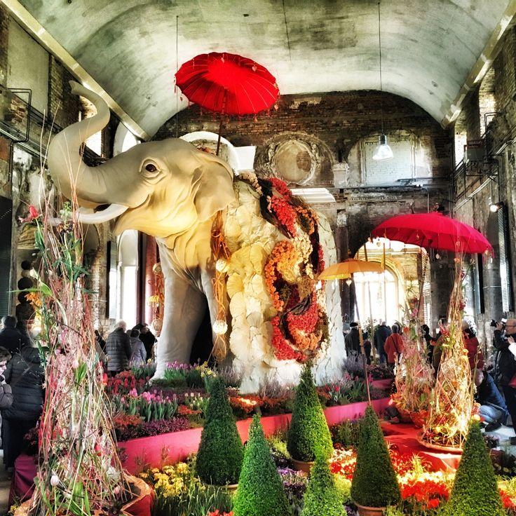 Ausstellungspodest- Dresdner Frühling im Palais