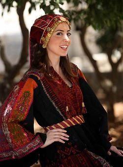 Palestinian national dress ( Toub)