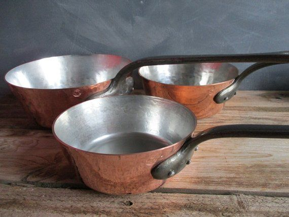 cooking pan country kitchen copper large pan cooking pot farmhouse kitchen, copper cooking pan French pots copper pan cookware pots