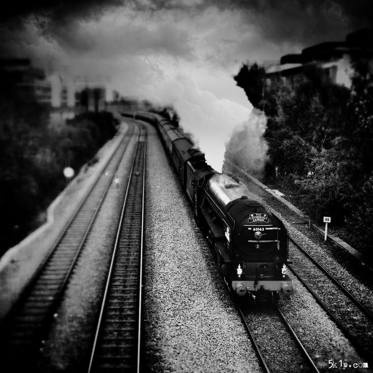 iPhoneography – { steam train } - The kind of happy accident anyone with an iPhone or other mobile phone can have. I was walking through my city and I saw quite a lot of people around with cameras. I asked what was happening and was told about this train. I headed straight for University Bridge, a vantage point being occupied by only one other person. I took this iPhoneography shot as the train approached. Subsequently I processed it to give a miniature impression and enhance the atmosphere.