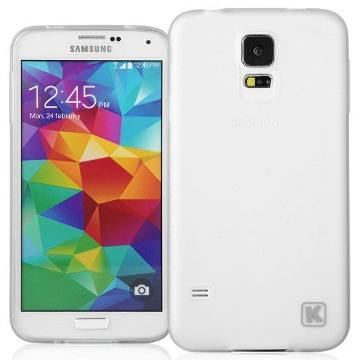 Amazon: KAYSCASE Slim Soft Gel Cover Case for Samsung Galaxy S5 Smart ...