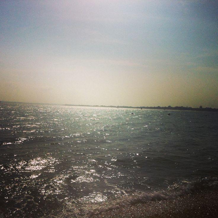Gorgeous sea at Portmouth