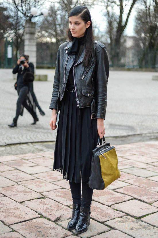 All black outfit / Street style fashion / fashion week #fashionweek #fashion #wo…