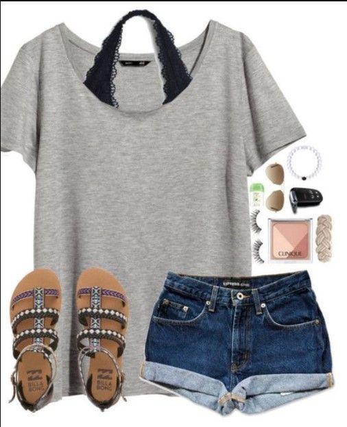 60+ Best Inspiring Cute Summer Outfits For Girl