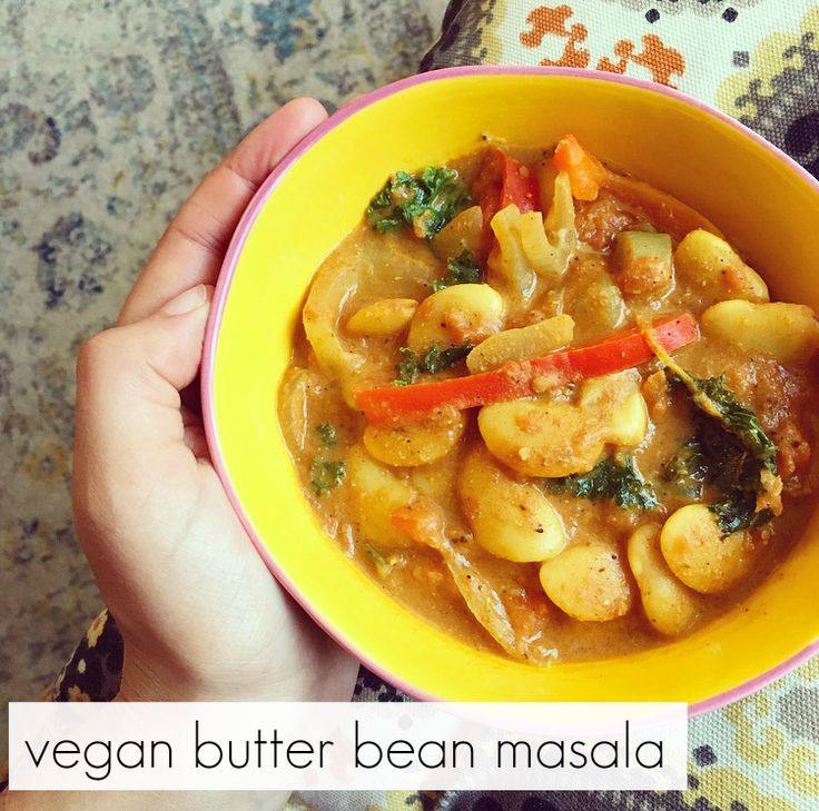 Vegan Butter Bean Masala | The Friendly Fig