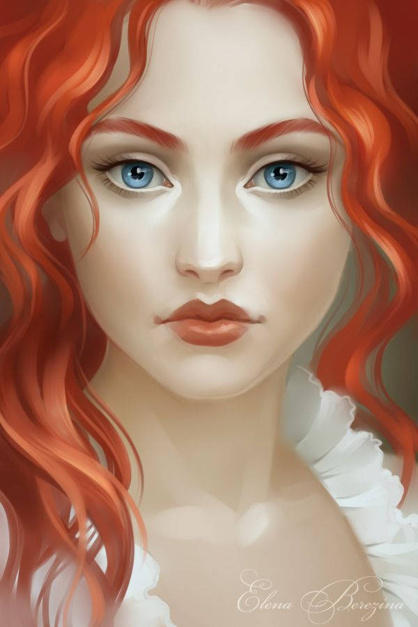 Redhead by sharandula.deviantart.com on @deviantART -