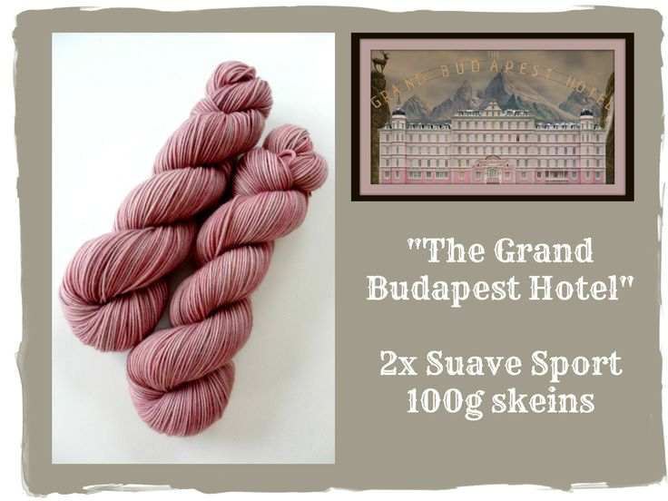 The Grand Budapest Hotel - Red Riding Hood Yarns