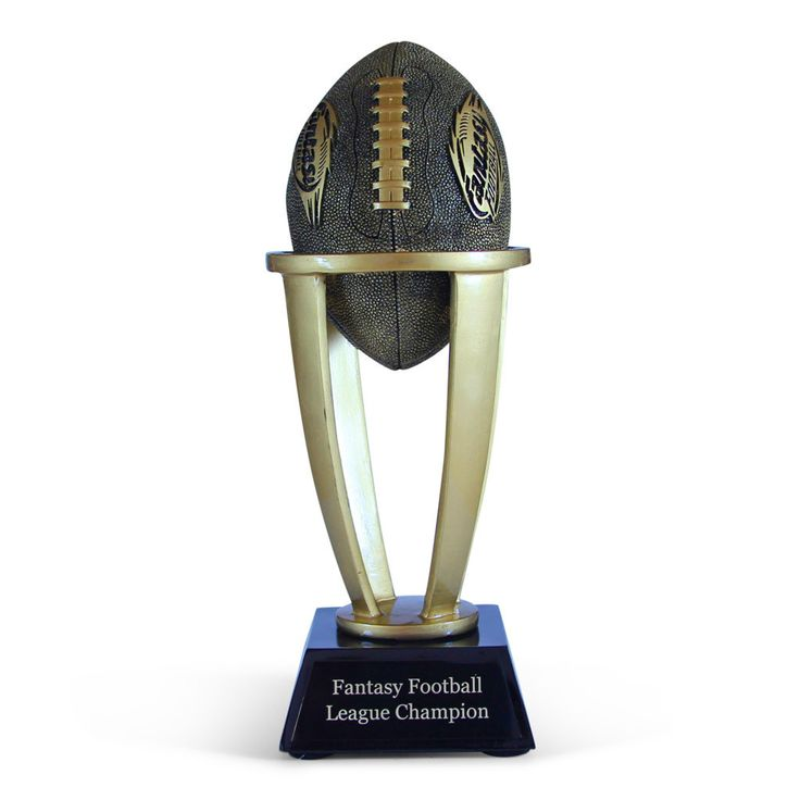 17 Best Ideas About Fantasy Football Trophies On Pinterest