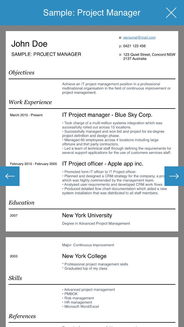 39 best resume  cv apps images on pinterest
