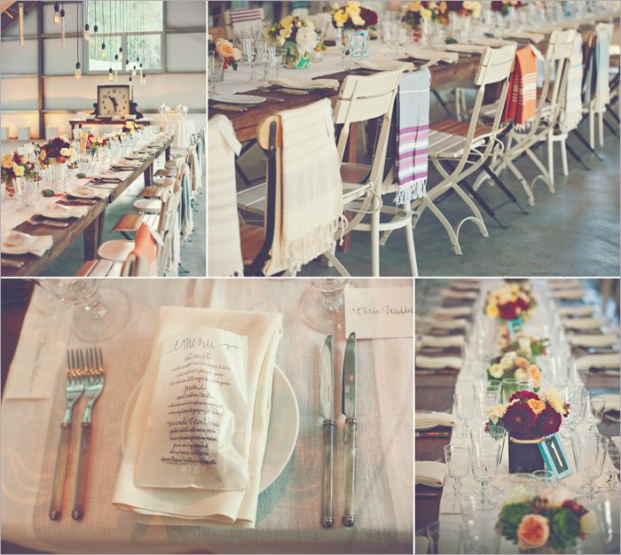 mismatched chairs + blankets: Mexicans Blankets Wedding, Barns Wedding Decor, Enjoying Events, Details Ideas, Pastel Blankets, Pastel Mexicans, Moments Ideas, Gifts Blankets, Events Plans