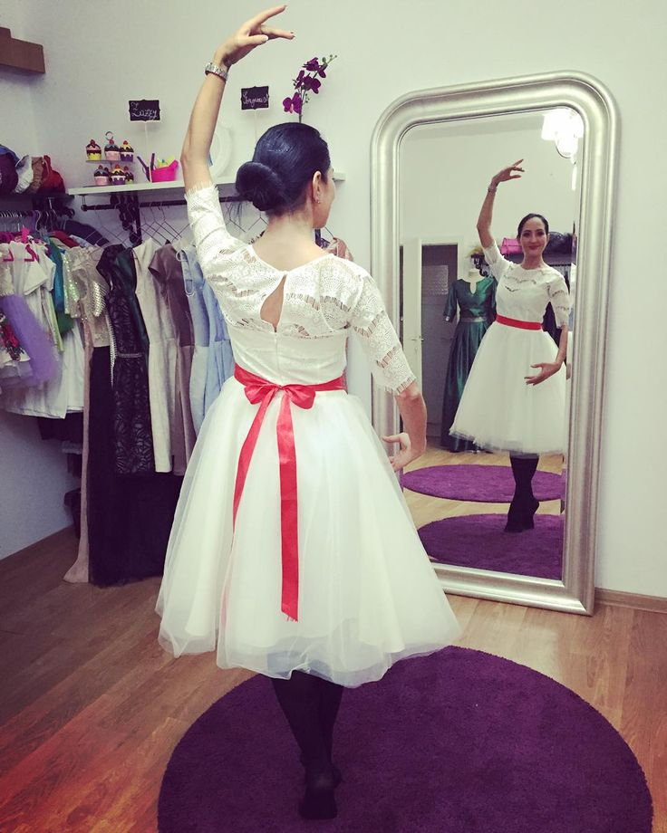 Zazzy Ballerina #tulledress #whitedress #zazaboutique