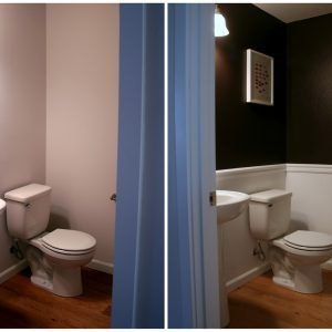 Ideas For Painting A Small Half Bathroom